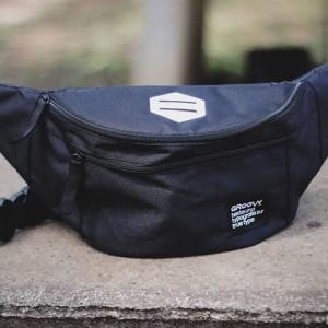 Harga waistbag pria tas selempang pria murah surabaya tas import lokal   | HARGALOKA.COM