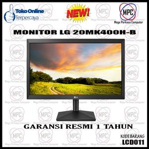 Harga monitor lg 20mk400h b 20 inch tn vga hdmi garansi   HARGALOKA.COM