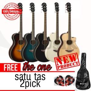 Harga gitar yamaha apx 600 apx600 akustik yamaha original tas amp | HARGALOKA.COM