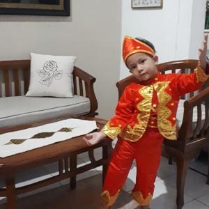 Harga baju pakaian adat padang kostum kartinian anak laki laki sumbar   13 14   HARGALOKA.COM