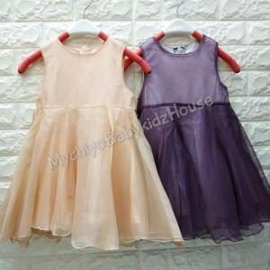 Harga baju anak perempuan dress annica simple import premium   sz 9 | HARGALOKA.COM