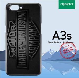 Harga hardcase oppo a3s or a5 harley davidson metal logo | HARGALOKA.COM