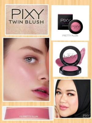 Harga pixy twin blush 03   pretty | HARGALOKA.COM