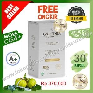 Harga garcinia nutrivite asli harga promo plus bonus pengiriman jne | HARGALOKA.COM