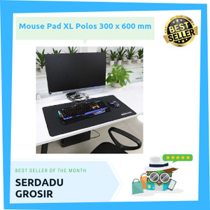 Harga gaming mouse pad xl desk mat polos murah 300 x 600 | HARGALOKA.COM