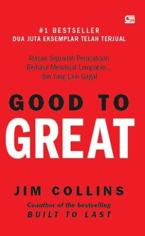 Harga good to great hardcover jim collins | HARGALOKA.COM
