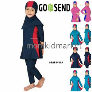 Harga baju renang anak muslim muslimah wanita perempuan cewek sulbi sbap p   1 2 3 | HARGALOKA.COM