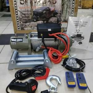 Harga winch heavy duty 1200lbs 12v   HARGALOKA.COM
