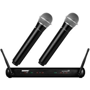 Harga shure svx288 pg28 wireless mic original garansi resmi   HARGALOKA.COM