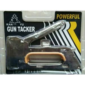 Harga staple staples steples gun tembak jok kulit motor gun tacker | HARGALOKA.COM
