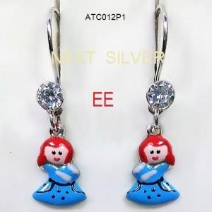 Harga anting anak karakter   perak silver   model | HARGALOKA.COM