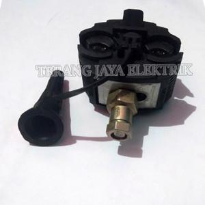 Harga tap konektor kabel listrik pln hitam super jbc16 120 besi   | HARGALOKA.COM