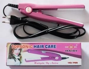 Harga Catok Mini Haidi Topsonic Hair Care Katalog.or.id