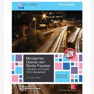 Harga original manajemen operasi dan rantai pasokan buku 1 edisi 14 | HARGALOKA.COM
