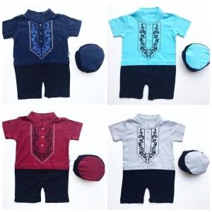 Harga koko romper aziz koko bayi lucu murah baju muslim bayi | HARGALOKA.COM