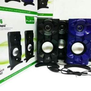 Harga speaker aktif fleco extra power sound bass speaker | HARGALOKA.COM