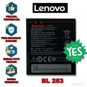 Harga baterai lenovo bl253 a1000 a2010 a2580 a2860 original batre | HARGALOKA.COM