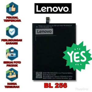 Harga baterai lenovo bl256 k4 note vibe x3 lite original batre | HARGALOKA.COM