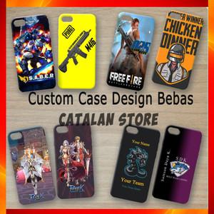 Harga custom case casing hp gaming design bebas   samsung oppo vivo | HARGALOKA.COM
