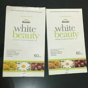 Harga nutrafor white beauty   supplement for healthy amp fairer skin 60 39 | HARGALOKA.COM