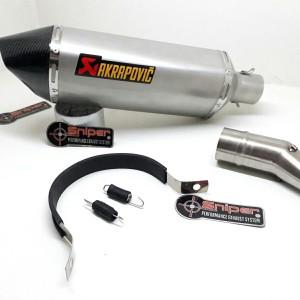 Harga knalpot ninja 250 r25 mt25 rr mono cbr250rr z250 tytanium | HARGALOKA.COM