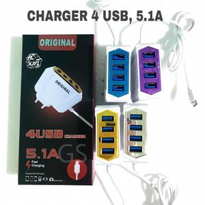 Harga charger 4 usb 5 1 | HARGALOKA.COM