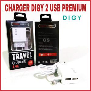 Harga charger digy 2 usb | HARGALOKA.COM