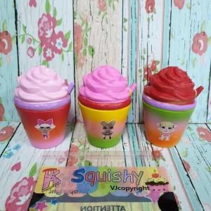 Harga squishy murah ice coffee character lol surprise licensed by vj | HARGALOKA.COM