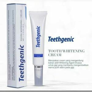 Katalog Teethgenic Tooth Whitening Cream By Ertos Cream Pemutih Gigi Katalog.or.id
