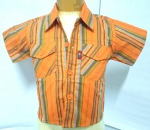 Harga 300 305 6 bulan 3 tahun kemeja baju atasan hem pendek anak cowo gaul   6 bulan 1 | HARGALOKA.COM