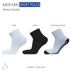 Harga kaos kaki olahraga   sport   lari running   polos pendek   tapak | HARGALOKA.COM