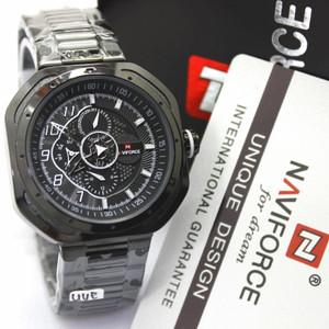 Harga naviforce 9141   jam tangan pria murah   anti air   full | HARGALOKA.COM