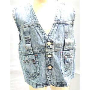 Harga 390 395 7 10 tahun rompi atasan jeans anak cowo cewe murah keren gaul   7 8 | HARGALOKA.COM