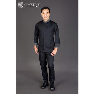 Harga baju koki   spenta black chef jacket   | HARGALOKA.COM