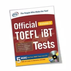 Harga official toefl ibt tests volume 2 with key and | HARGALOKA.COM