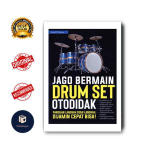 Harga new buku hobi jago bermain drum set   HARGALOKA.COM