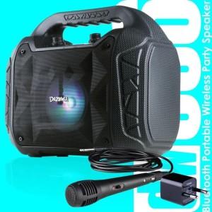 Harga speaker karaoke dazumba dw086 bluetooth free mic n adaptor   | HARGALOKA.COM