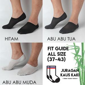 Harga kaos kaki pria pendek invisible hidden kets socks bambu arang asli   | HARGALOKA.COM
