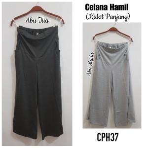 Harga celana kulot kaos hamil cph37   abu | HARGALOKA.COM