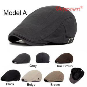 Harga patino hat topi flat cap pet pelukis sutradara   a | HARGALOKA.COM