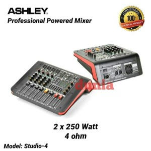 Harga power mixer ashley studio 4 original 4 | HARGALOKA.COM