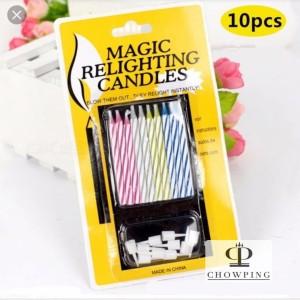 Harga Lilin Magic Lilin Ajaib Magic Candle Magic Relighting Candle Katalog.or.id