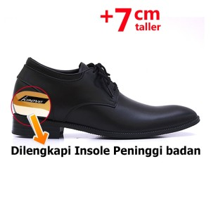 Harga keeve sepatu formal peninggi badan kbp 075   hitam | HARGALOKA.COM