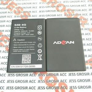 Harga baterai battery batre original double power advan s50 4g model | HARGALOKA.COM