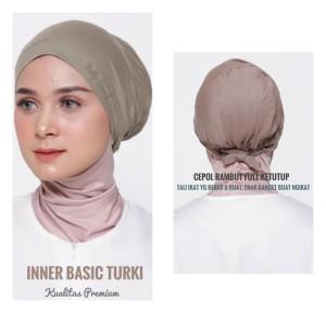Harga inner basic turki ciput polos tali premium   | HARGALOKA.COM