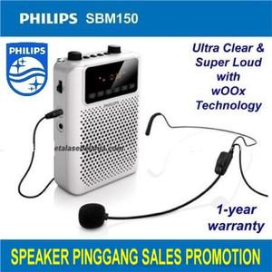 Harga speaker tour guide leader waistband speaker mic   philips | HARGALOKA.COM