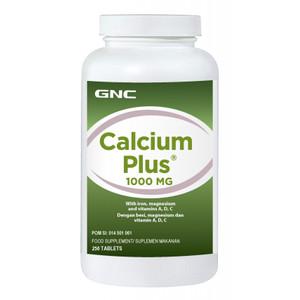 Harga calcium plus 1000 gnc 250 tablet pengiriman kusus via | HARGALOKA.COM