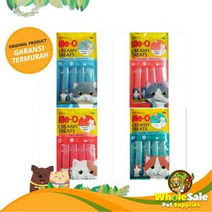 Info Meo Me O Creamy Treats Snack Kucing Rasa Salmon Flavor 1 Pack 60gr Katalog.or.id