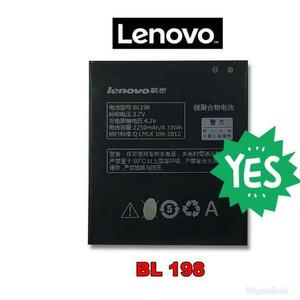 Harga baterai lenovo bl198 a859 k860 s880 original batre | HARGALOKA.COM