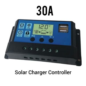 Harga solar panel charger controller panel surya 30a 12v   HARGALOKA.COM